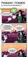 Friggin Ponies comic by saturdaymorningproj