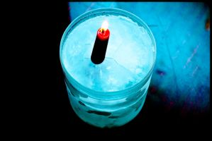 ice and candle by arteomov