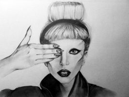 Lady Gaga by arseniic