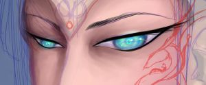 Eye close up by DraconianRain