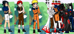 Dress Up Naruto and Friends - Dressup24h.com by willbeyou