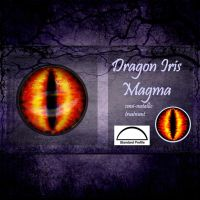 Magma Dragon Irises by CozmicDreamer