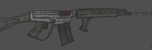 Modified FN FAL by CzechBiohazard
