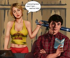Smallville: Clark and Chloe by CODE-umb87