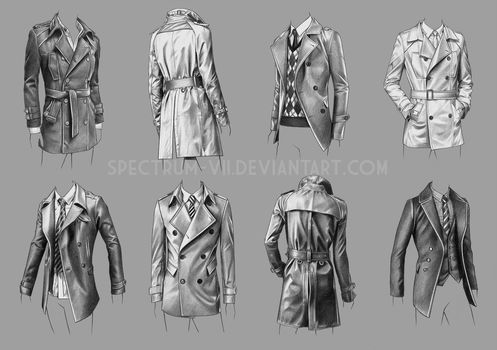 A study in coats by Spectrum-VII