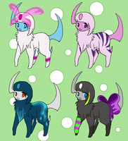 Absol Adoptables by Teddy33