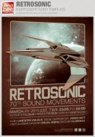 RestroSonic Event Flyer Template by loswl