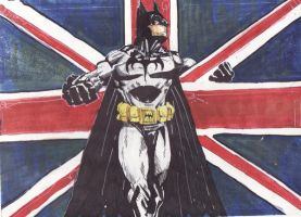 Batman Save the Queen by boricuanart