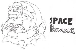 SPACE BOWSER with pens by GlassMan-RV