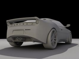Lotus Evora No.5 by rockgem3d