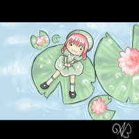 Lilly pads by Angelainva