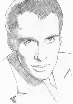 Christopher Lee by laurahutton