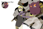 Morty, Gengar y Dusknoir. by Vitymon