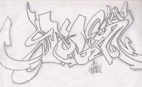 simple graff by tHEjOGS