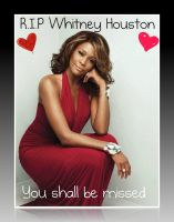 R.I.P Whitney Houston by AnimeQueen4Life