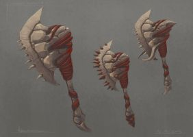 Weapon designs by Born-To-Design