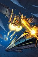 Transformers RID #9 Incentive cover colors by khaamar