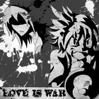 LOVE IS WAR by bluecrysto
