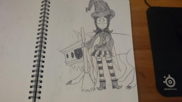 Monster Mansion: Witch Catherine and Wolfgang by SleeplessNight10