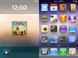 My Current iOS by iShotTheMaid