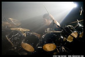 Dave Lombardo of Slayer by tomcouture