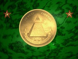 Raytraced Eye of Providence / Great Seal by mcsoftware