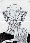 Old drawing : King Piccolo by LARvonCL