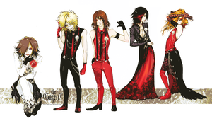 The Gazette - original outfit by KaZe-pOn