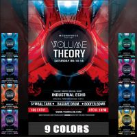 VOLUME THEORY FLYER TEMPLATE by MCerickson