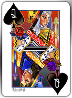 The Queen of Spades by DrSlug