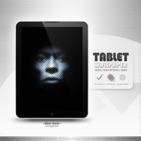 tablet wp 03 - Miles Davis by MadeInKobaia