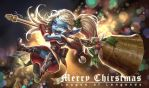 [LoL]Chirstmas Poppy by moon801205