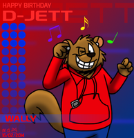Happy Birthday D-Jett 2014 by BluebottleFlyer
