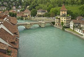 River of Bern by AgiVega