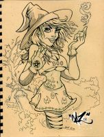 WITCHY BOO by CaziTena