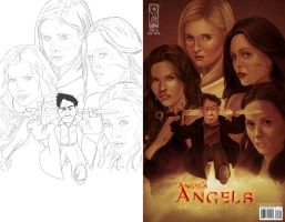 Angel's Angels - Side By Side by tabu-art