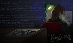 In The Dark Lab... by BechnoKid