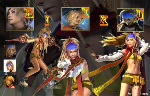 Rikku Collage by SHINOKAZI09