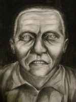 Hannibal lecter charcoal by lowes4dljn