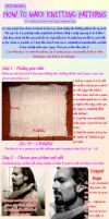 Knitting Pattern Tutorial by GRichmond