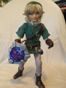 LINK: Hero of Time (custom EAH doll) by mourningwake-press