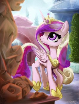 Cadance Doubt by FidzFox