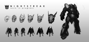 Nightstreak WIP by Hazzard65