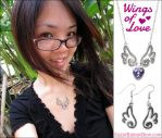 Wings of Love Jewelry by celesse
