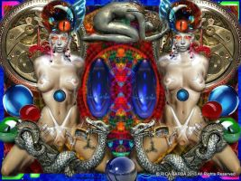 001 ARTIST RICA BARBA 2015 TITLE PSEUDORETROCYBORG by ricababe888