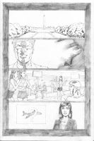 Hawk and Dove Page 01 by SeanLeeArt
