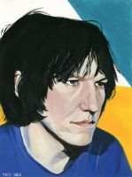 Elliott Smith by lawlosaur