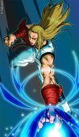 Andy Bogard by Sakuseii