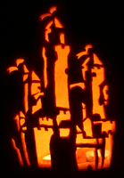 Castle of the Pumpkin by johwee
