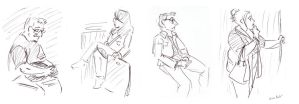 Ink Bus Sketches by Di---Chan